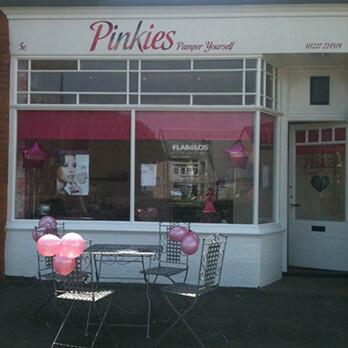 pinkies shopfront