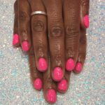 Bright Pink Gelish