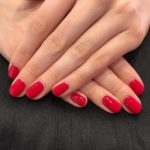 Classic Red Gelish Mani