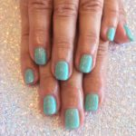 Mermaid Gelish Manicure